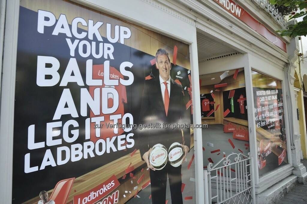 Pack your balls and leg it to Ladbrokes (19.07.2013)