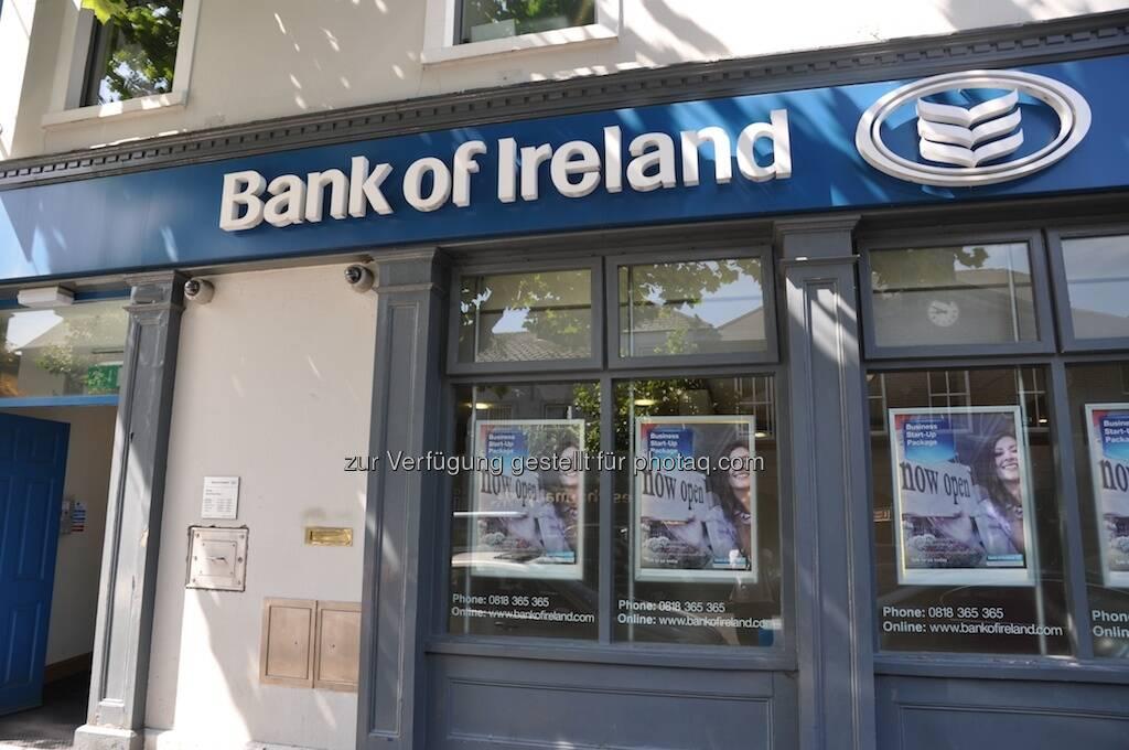 Bank of Ireland, BoI, Irland (19.07.2013)