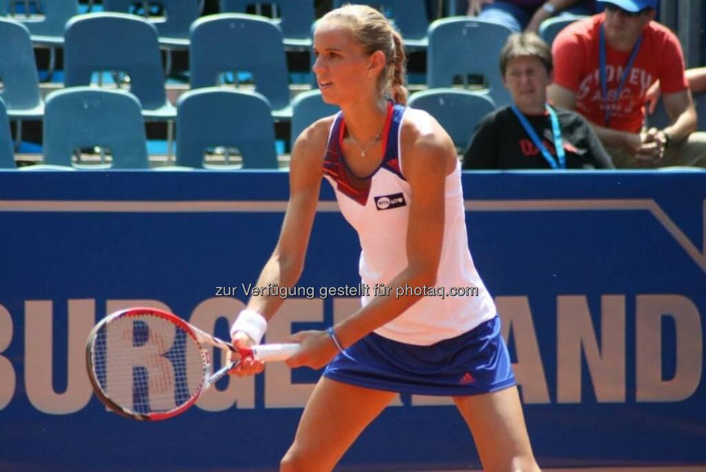 Arantxa Rus beim Nürnberger Gastein Ladies, Tennis - mehr unter https://www.facebook.com/GasteinLadies (20.07.2013)