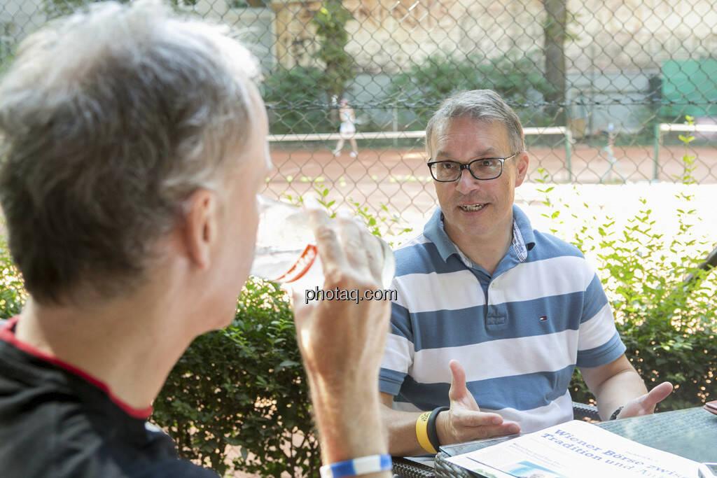 Christian Drastil, Alfred Reisenberger, © finanzmarktfoto.at/Martina Draper (25.07.2013)