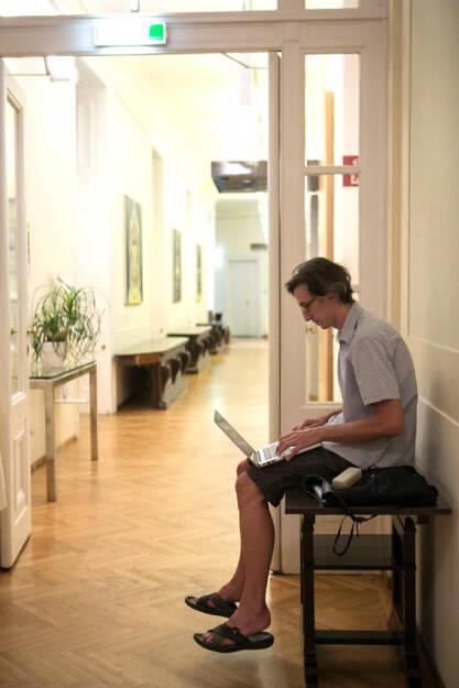 Josef Chladek, der Baumeister der Sites, auch in der IV im Einsatz:  http://finanzmarktfoto.at/page/index/535#bild_7679, © Martina Draper/Christian Drastil (26.07.2013)