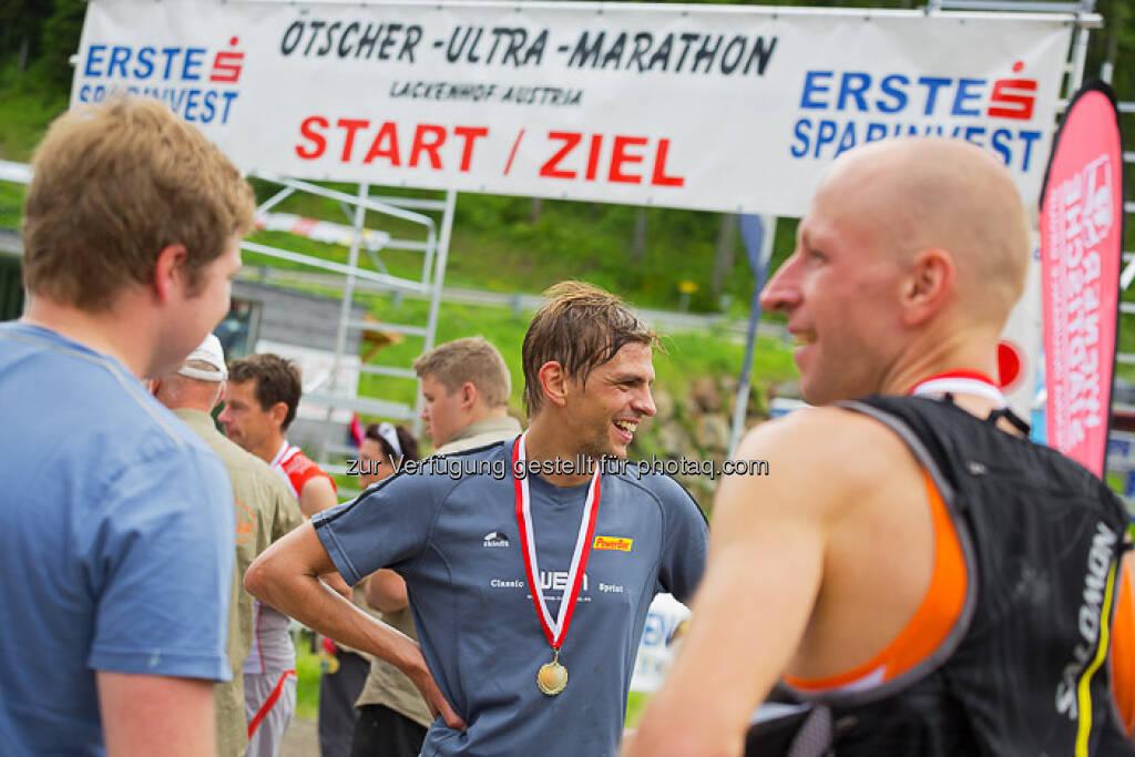 Start/Ziel beim ESPA-Ötscher-Marathon 2013 , © Rainer Mirau (27.07.2013)