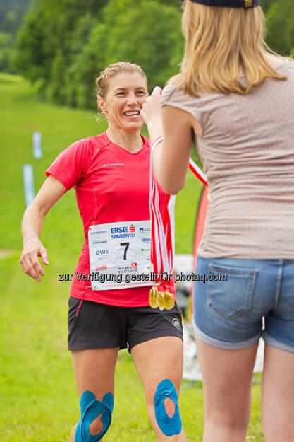 Laufen, Running, Medaillen, ESPA-Ötscher-Marathon 2013 , © Rainer Mirau (27.07.2013)