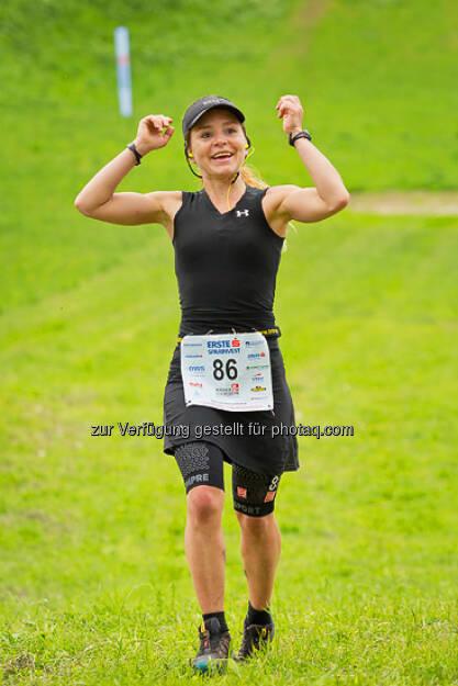 Freude, Jubel, Laufen, Running, ESPA-Ötscher-Marathon 2013 , © Rainer Mirau (27.07.2013)