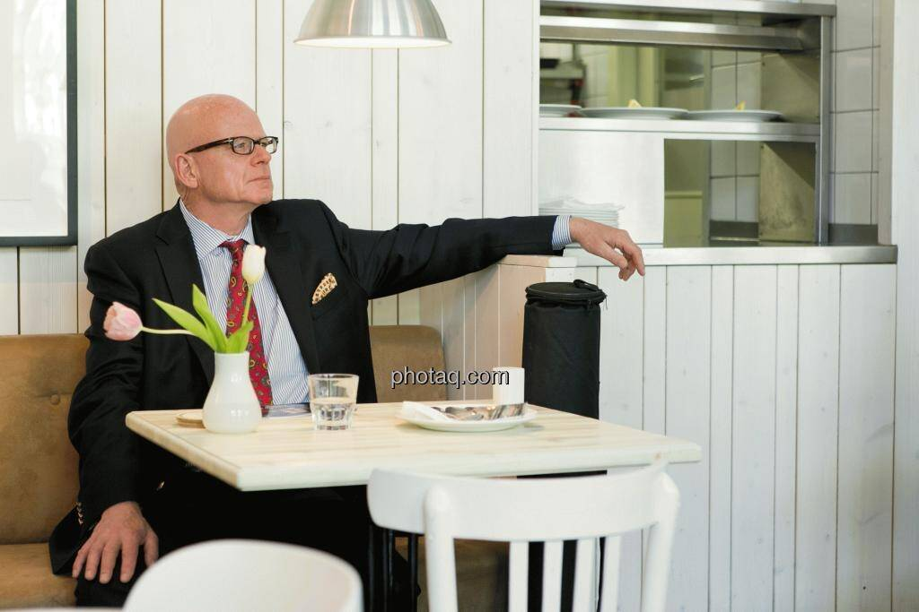 Hugh D. Clarke (Vice President Endeavour Silver), © Martina Draper (15.12.2012)