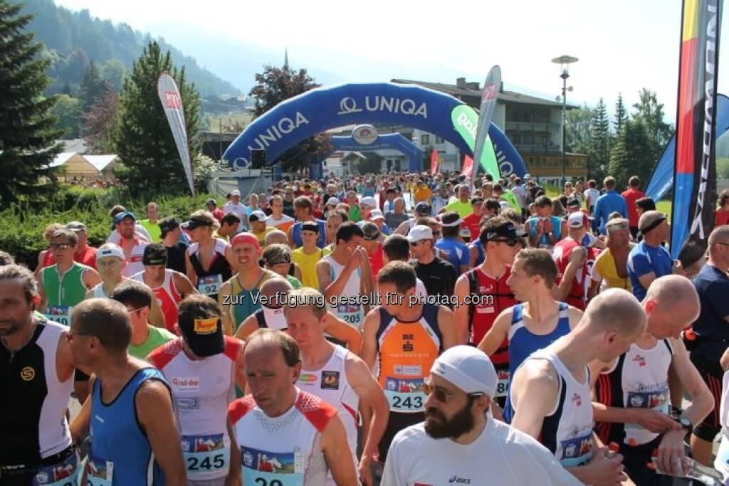 Start Großglockner Berglauf 2013, viele Bilder mehr unter http://www.maxfun.at/videos/bilder.php?aid=1350, © maxfun.at (27.07.2013)
