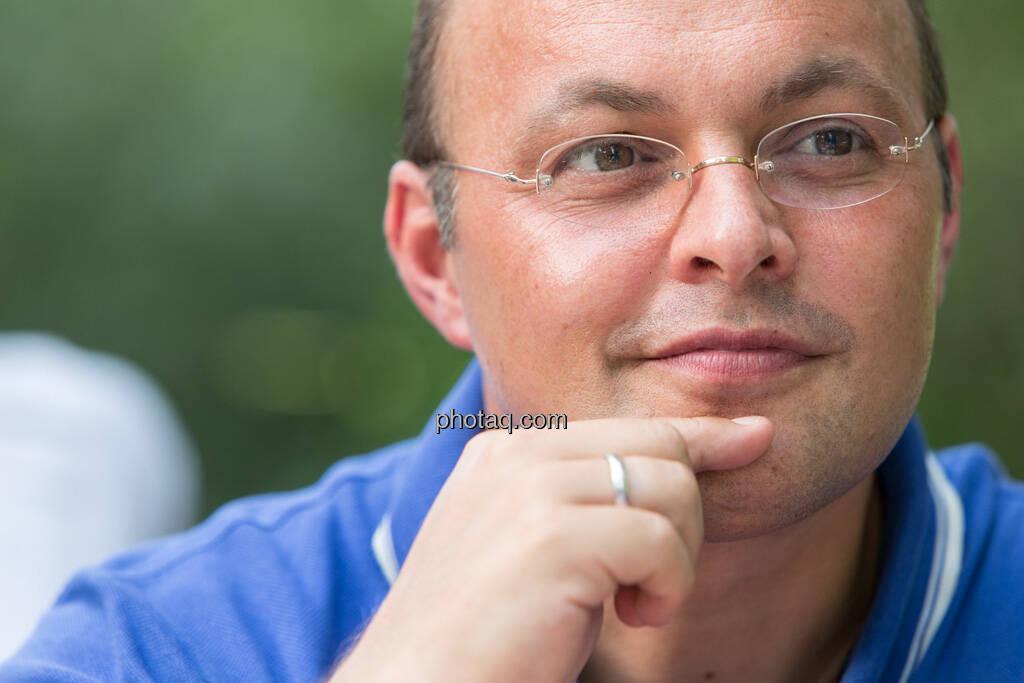 Werner Lanthaler (CEO Evotec), © finanzmarktfoto.at/Martina Draper (29.07.2013)