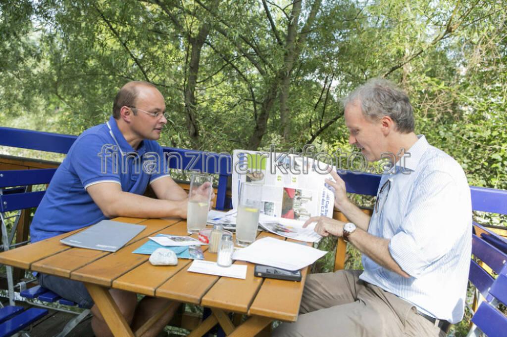 ... im Talk mit Werner Lanthaler, Evotec, auf der Summer Stage, mehr unter http://finanzmarktfoto.at/page/index/594/ (30.07.2013)