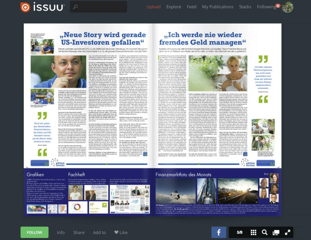 Seiten 4/5 - Interviews mit Werner Lanthaler und Isabella de Krassny - Download http://www.christian-drastil.com/fachheft11 (01.08.2013)