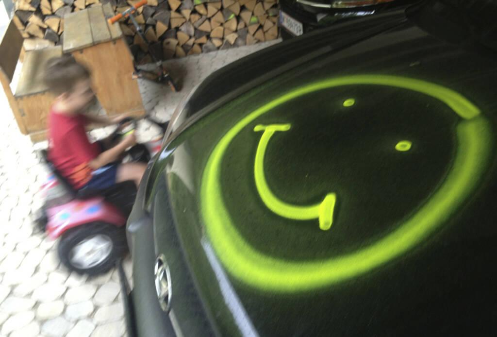 Auto Smeil!, mehr unter http://finanzmarktfoto.at/page/index/607 (04.08.2013)