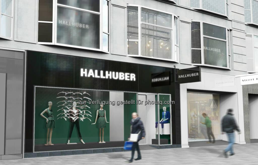 Die Hallhuber GmbH, das deutsche Modeunternehmen für hochwertige Damenoberbekleidung, setzt ihren Expansionskurs in Österreich fort. Anfang des Monats eröffnete das Traditionshaus mit Sitz in München in der Mariahilferstraße 51 in Wien seinen ersten Highstreet Store mit mehr als 400 Quadratmetern Verkaufsfläche (c) Aussendung (05.08.2013)