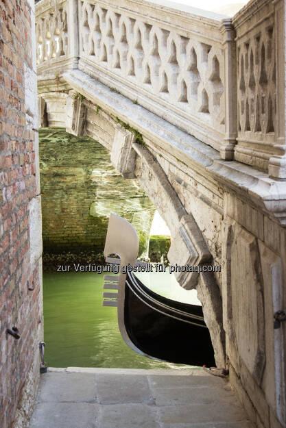 Venedig, Brücke, Gondel, © Nina Krist (Philoro) (05.08.2013)