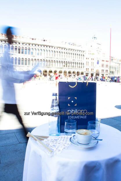 Venedig, Markusplatz, Philoro Sackerl, © Nina Krist (Philoro) (05.08.2013)