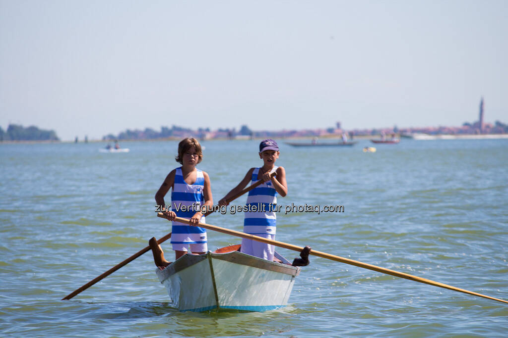 Venedig, Boot, Buben, © Nina Krist (Philoro) (05.08.2013)