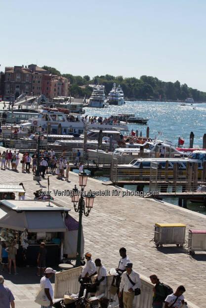 Venedig, Pier, © Nina Krist (Philoro) (05.08.2013)