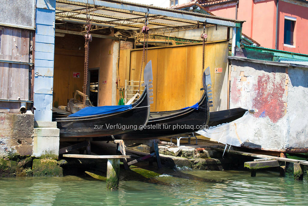 Venedig, Gondelgarage, © Nina Krist (Philoro) (05.08.2013)