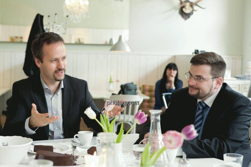 Joachim Brunner (IR-World.com), Richard H. Mayr (CEO Argentuminvest), © Martina Draper (15.12.2012)