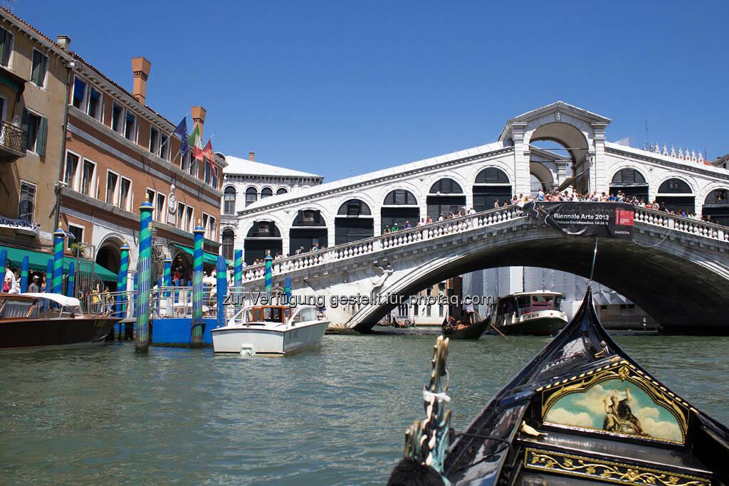 Venedig, Rialto Brücke, © Nina Krist (Philoro) (05.08.2013)