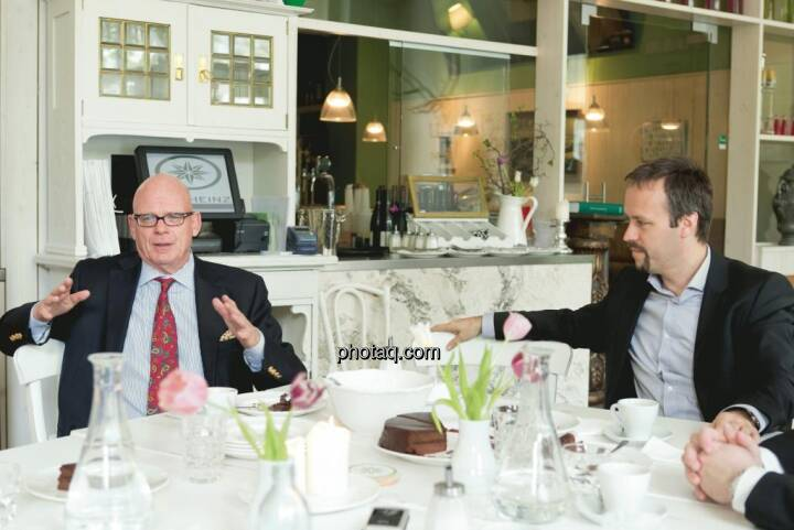 Hugh D. Clarke (Vice President Endeavour Silver), Joachim Brunner (IR-World.com)