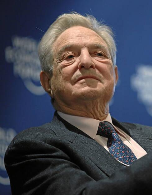 George Soros, Investor (12. August) - finanzmarktfoto.at wünscht alles Gute! , © entweder mit freundlicher Genehmigung der Geburtstagskinder von Facebook oder von den jeweils offiziellen Websites  (12.08.2013)