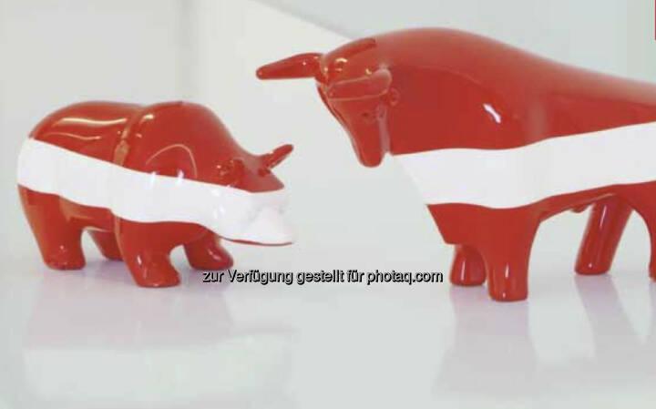 Bär, Bulle, Wiener Börse, Rot-Weiss-Rot (c) Wiener Börse