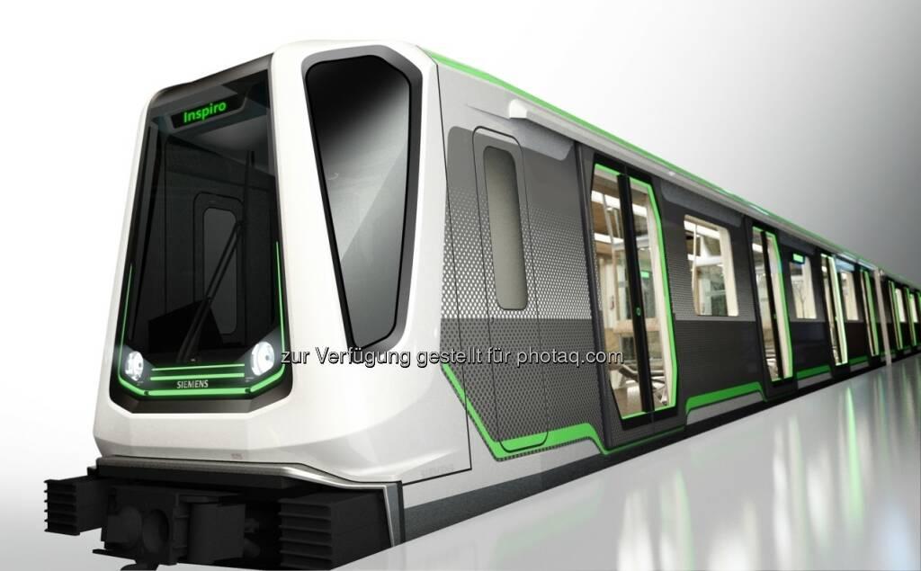 """Die Metro-Plattform Inspiro von Siemens wurde in Österreich für den """"Staatspreis Mobilität 2013"""" nominiert. Der Staatspreis Mobilität ist in die höchste Auszeichnung, die das österreichische Bundesministerium für Verkehr, Innovation und Technologie an österreichische Unternehmen und Institutionen verleiht (c) Siemens (12.08.2013)"""