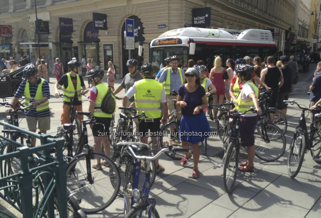 Radfahrer, Graben (12.08.2013)