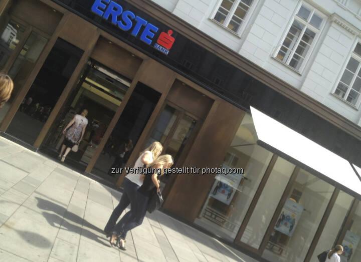 Erste Bank, Graben