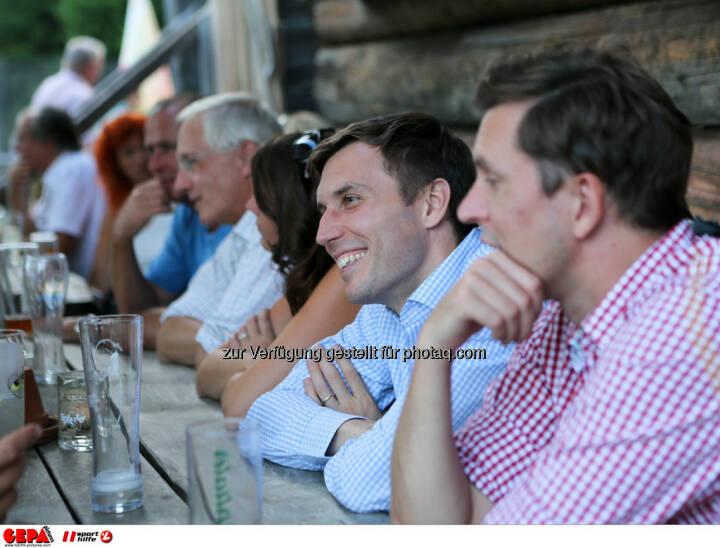 Sebastian Haboeck (Citroen) und Juergen Gruber (Drei). Foto: GEPA pictures/ Markus Oberlaender