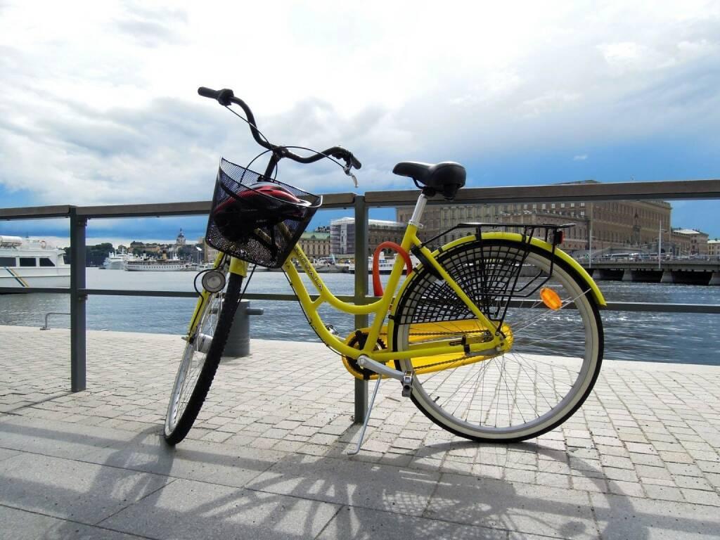 Fahrrad, Stockholm, © Peter Sitte (14.08.2013)