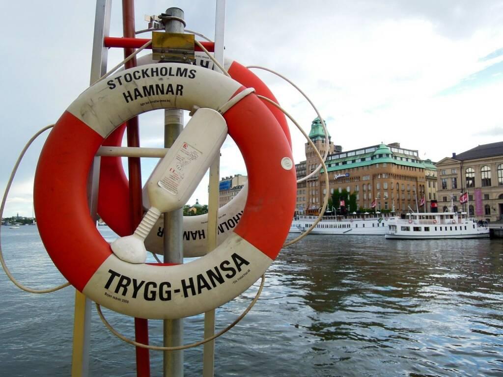 Rettungsring, Stockholm, © Peter Sitte (14.08.2013)