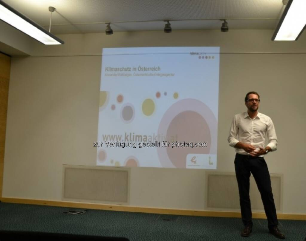 Alexander Rehbogen von der Österreichischen Energieagentur sprach über nationale Klimaziele- und -vorgaben - mehr unter http://blog.immofinanz.com/de/2013/08/16/was-sich-die-buwog-bis-2020-vorgenommen-hat/ (16.08.2013)