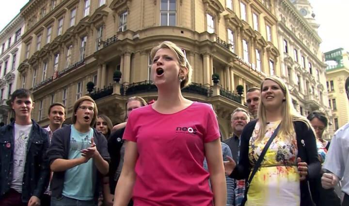 Wow, Jubeln, Rufen, Freude - Beate Meinl-Reisinger & Co. im Neos-Video http://www.youtube.com/watch?v=rN7XMDNI1ws