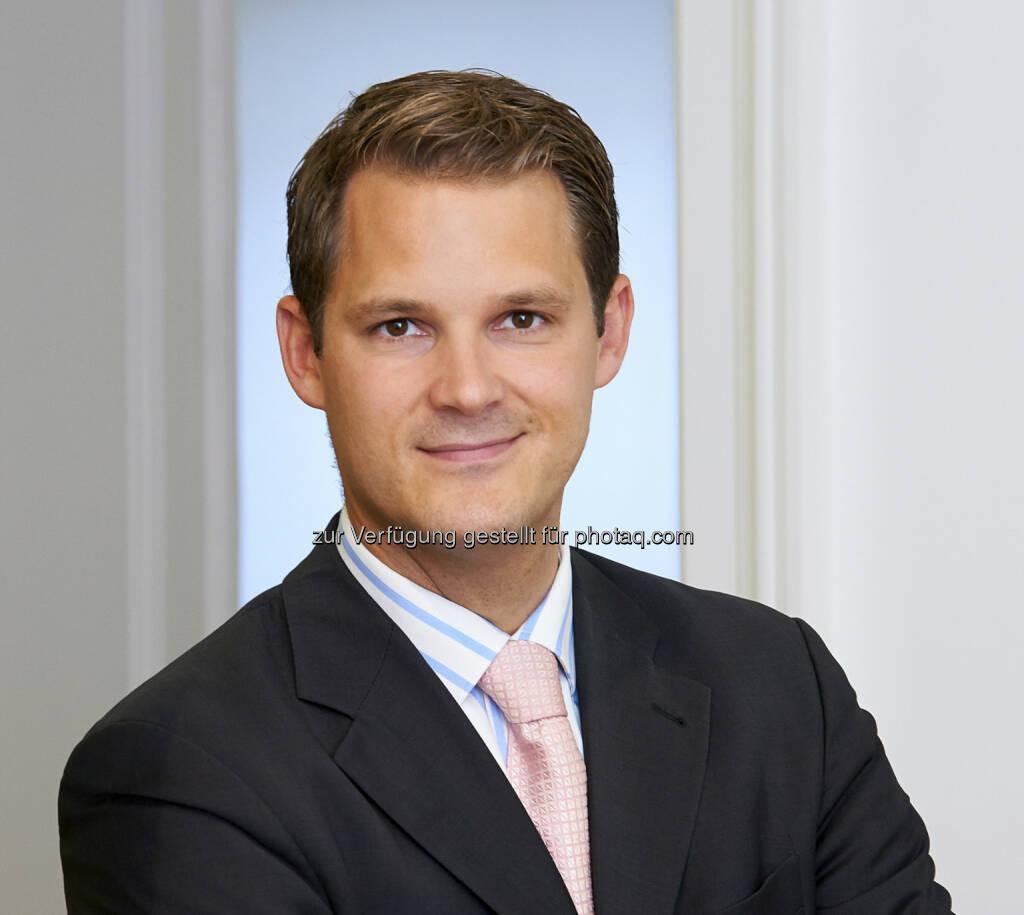 Nikolaus Jesser (34), neuer Senior Private Banker in der Wiener Niederlassung der Zürcher Kantonalbank Österreich (c) Aussendung (19.08.2013)
