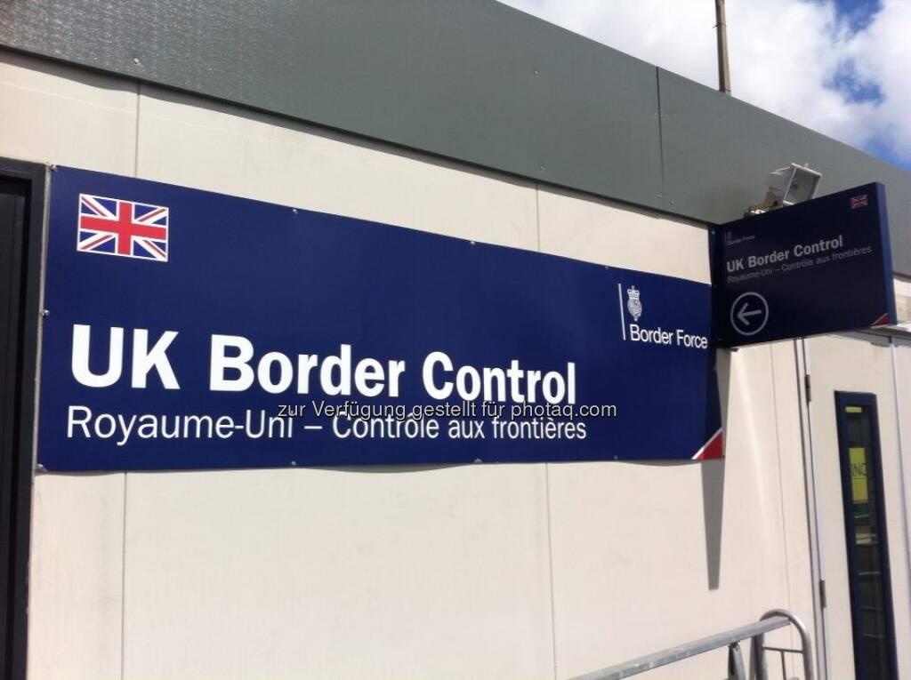 England - UK Border Control, Zoll, © Andreas von Richthofen (19.08.2013)
