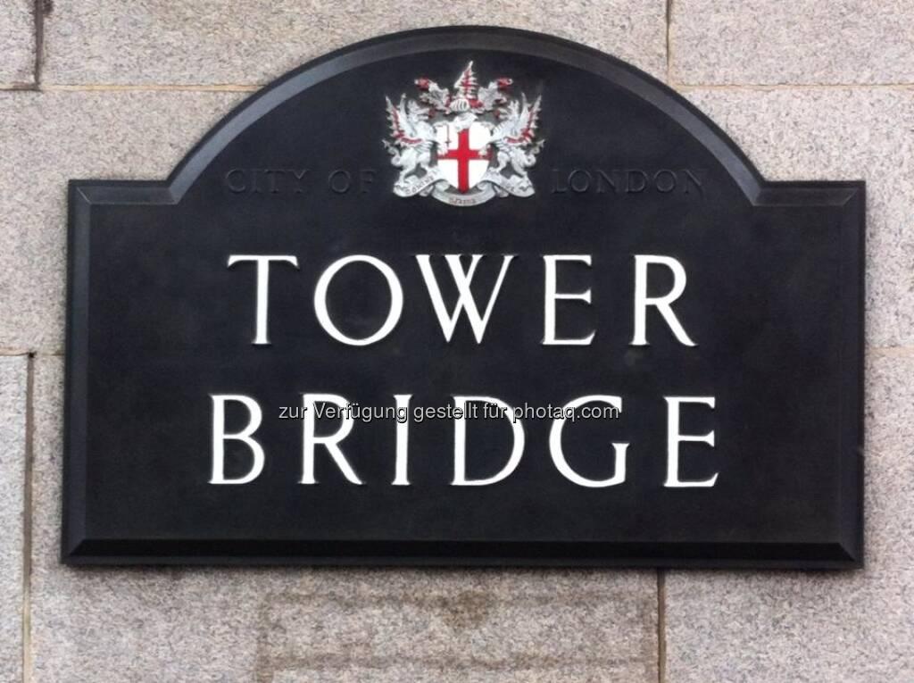 England - London, Tower Bridge, © Andreas von Richthofen (19.08.2013)