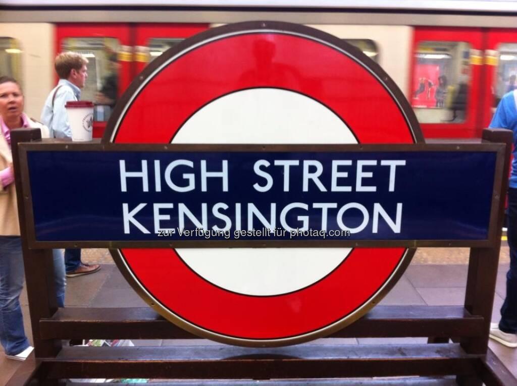England - London, High Street Kensington, © Andreas von Richthofen (19.08.2013)