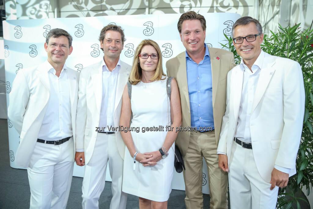 SevenOneMedia Geschäftsführer Michael Stix mit 3 Geschäftsführung, © 3 (20.08.2013)
