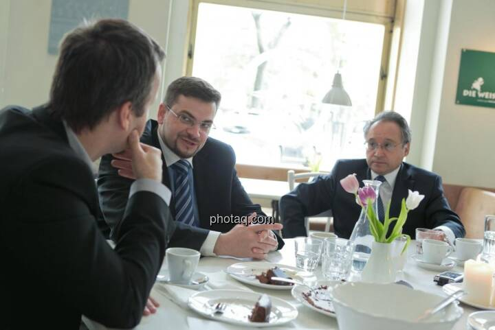 Richard H. Mayr (CEO Argentuminvest), Lenic M. Rodriguez (CEO Aurcana)