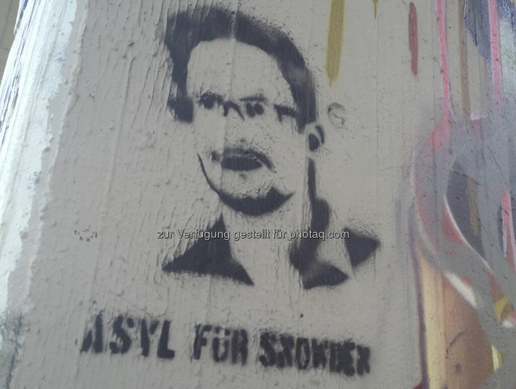 Asyl für Edward Snowden (21.08.2013)