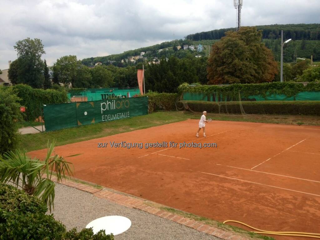 philoro am Tennisplatz, Tennis (21.08.2013)