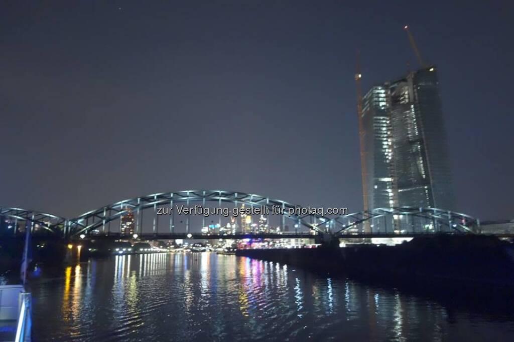 Lauer Sommerabend in Frankfurt auf einem Mainschiff. Gelungene Veranstaltung von vwd , © Dirk Herrmann (23.08.2013)