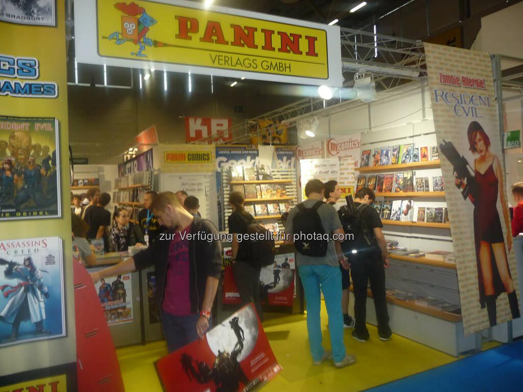 Panini gamescom, © Roland Meier (27.08.2013)
