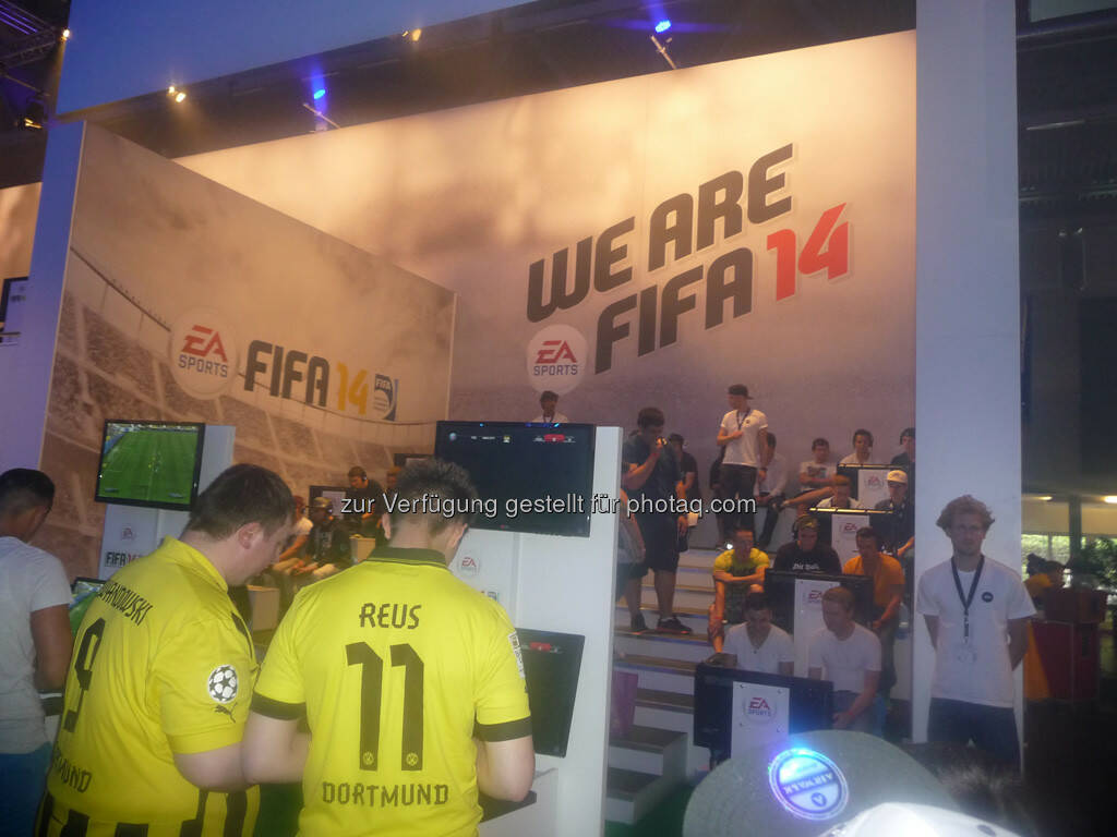 We are FIFA 14, Dortmund gamescom, © Roland Meier (27.08.2013)