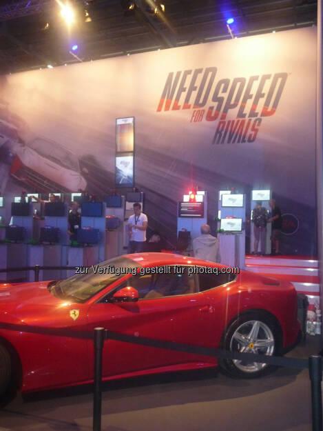 Need for Speed gamescom, © Roland Meier (27.08.2013)