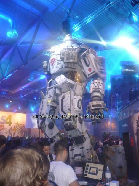 Roboter gamescom, © Roland Meier (27.08.2013)