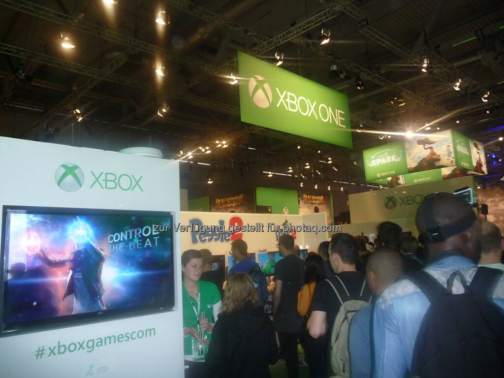 Xbox one gamescom, © Roland Meier (27.08.2013)