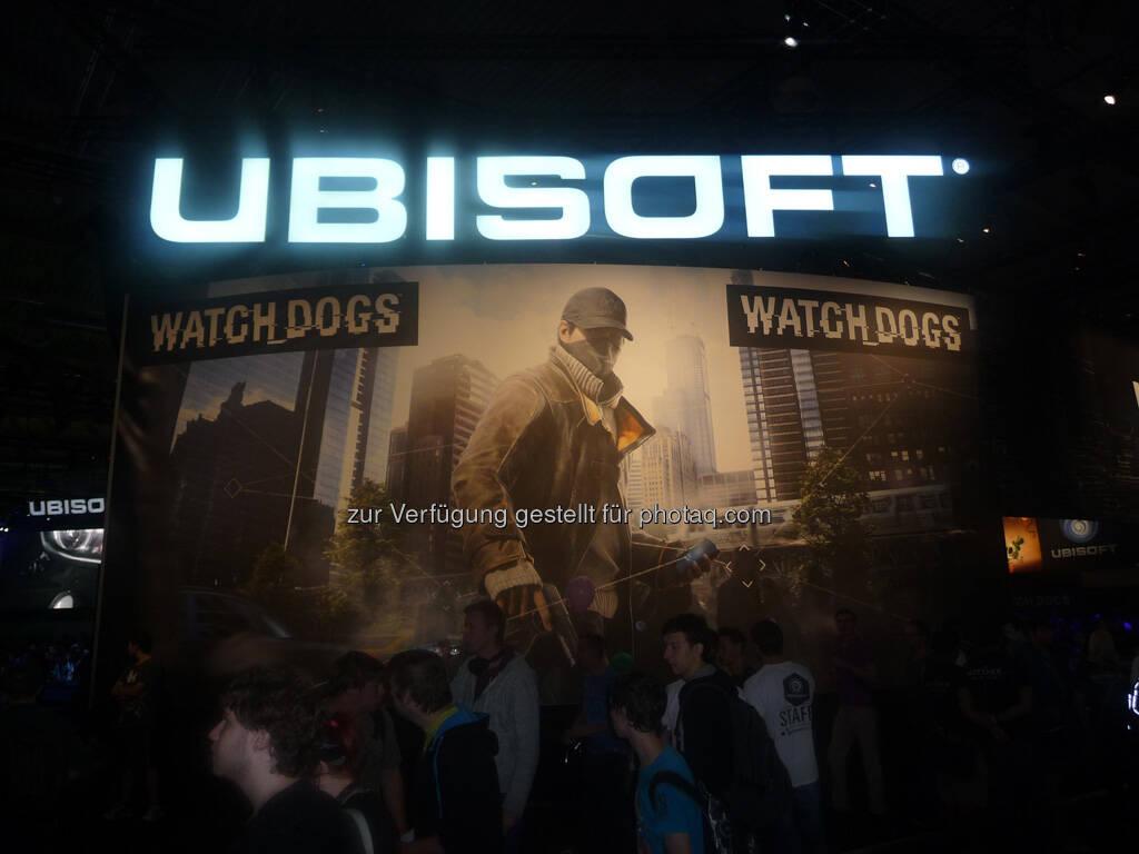 Ubisoft gamescom, © Roland Meier (27.08.2013)