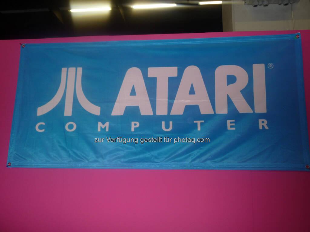 Atari gamescom, © Roland Meier (27.08.2013)