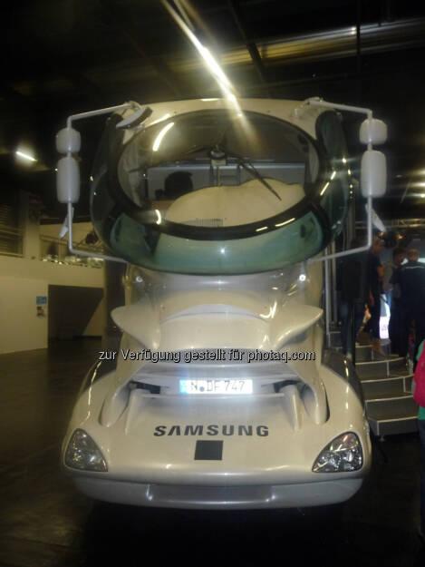Samsung Auto gamescom, © Roland Meier (27.08.2013)